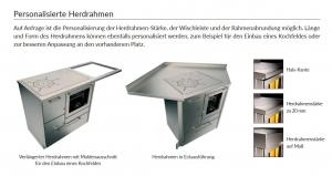 Holzherd Rizzoli RE40 Standard ohne Backofen