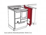 Holzherd Rizzoli RE45 Standard ohne Backofen