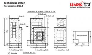 Hark Kachelofen 5/83.1