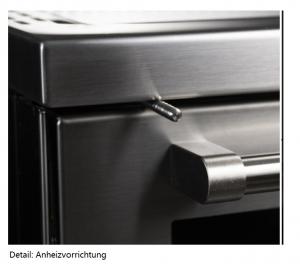 Holzherd Rizzoli ZVI90 mit Backofen