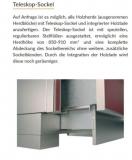 Holzherd Rizzoli RVE45 Inox ohne Backofen, mit Sichtfenster