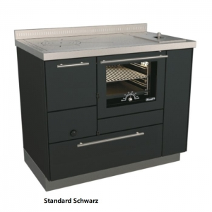 Holzherd Rizzoli RE100 Standard mit Backofen und Wasserschiff
