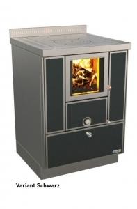 Holzherd Rizzoli RVI60 Variant ohne Backofen, mit Sichtfenster